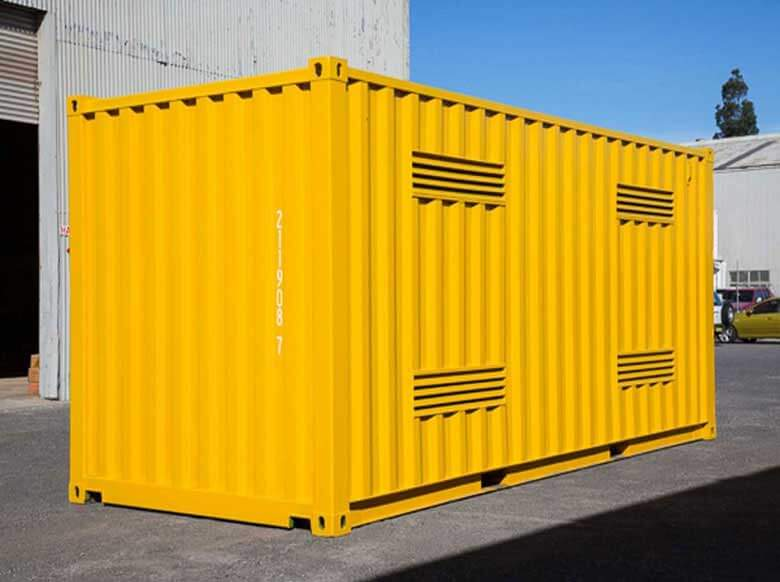 hazardous material shipping container