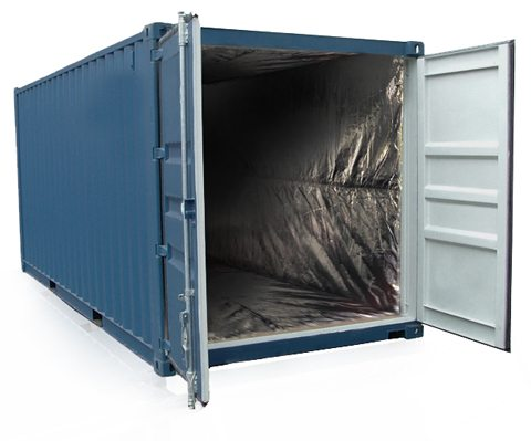 used insulated shipping containers