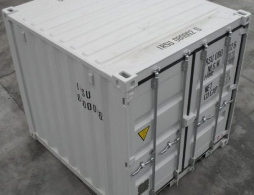 How Much Can I Store In a 10ft Shipping Container?